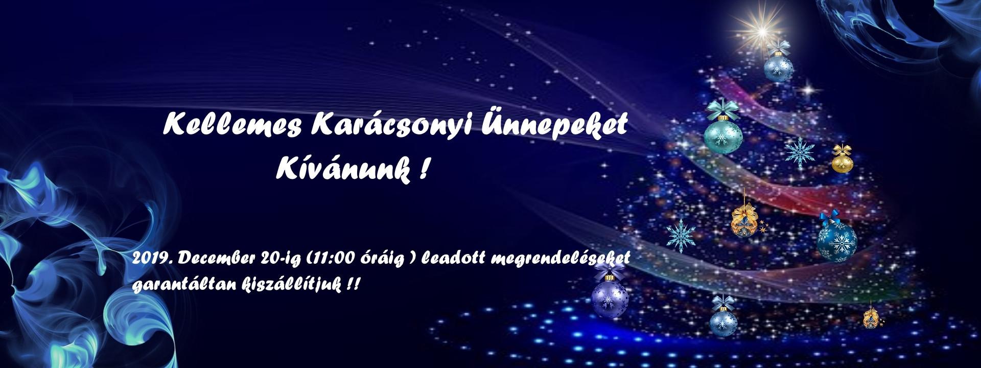 Karácsonyi banner