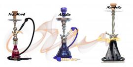 Vízipipák Összehasonlítása: Top Mark - Aladin - Narikela