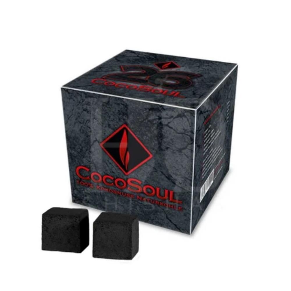 Cocosoul vízipipa szén | 64 db