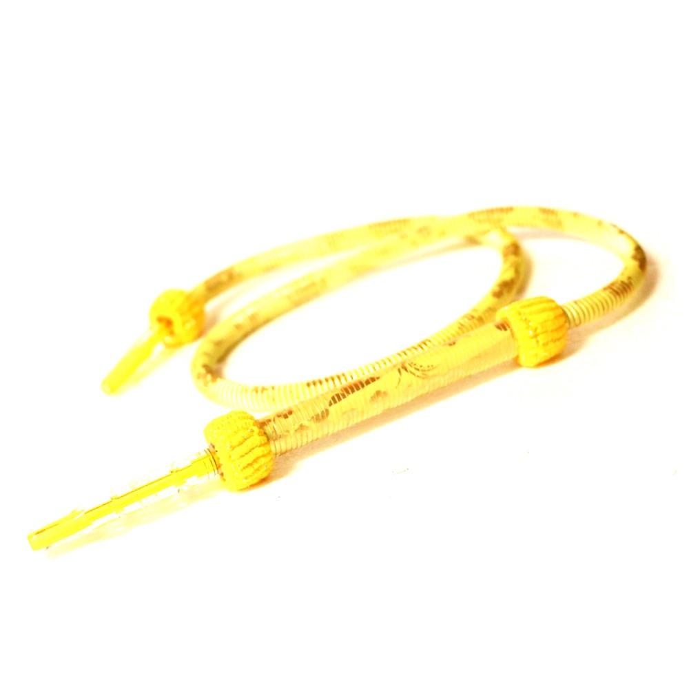 Díszes szívócső | Sárga | 185 cm