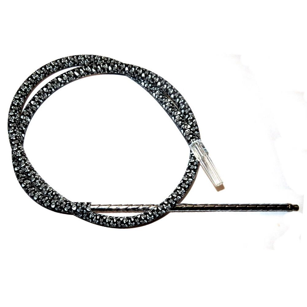 Harimi szívócső | Koponyamintás | 190 cm