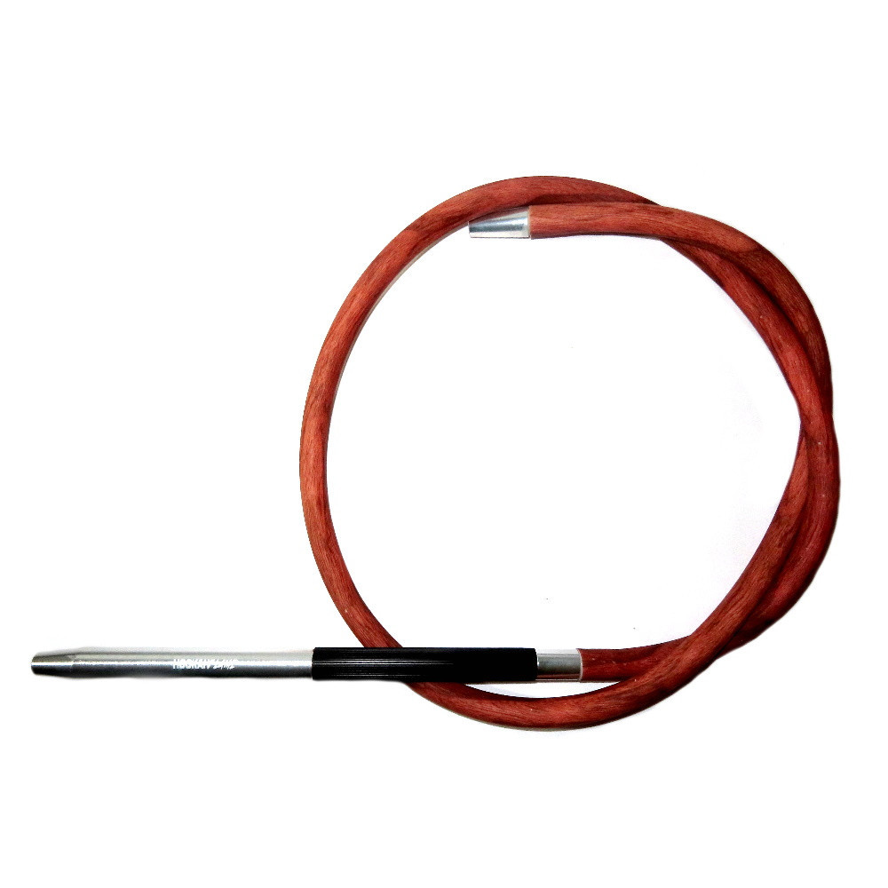 Hookah Flame szívócső | 190 cm | Rózsafa mintás
