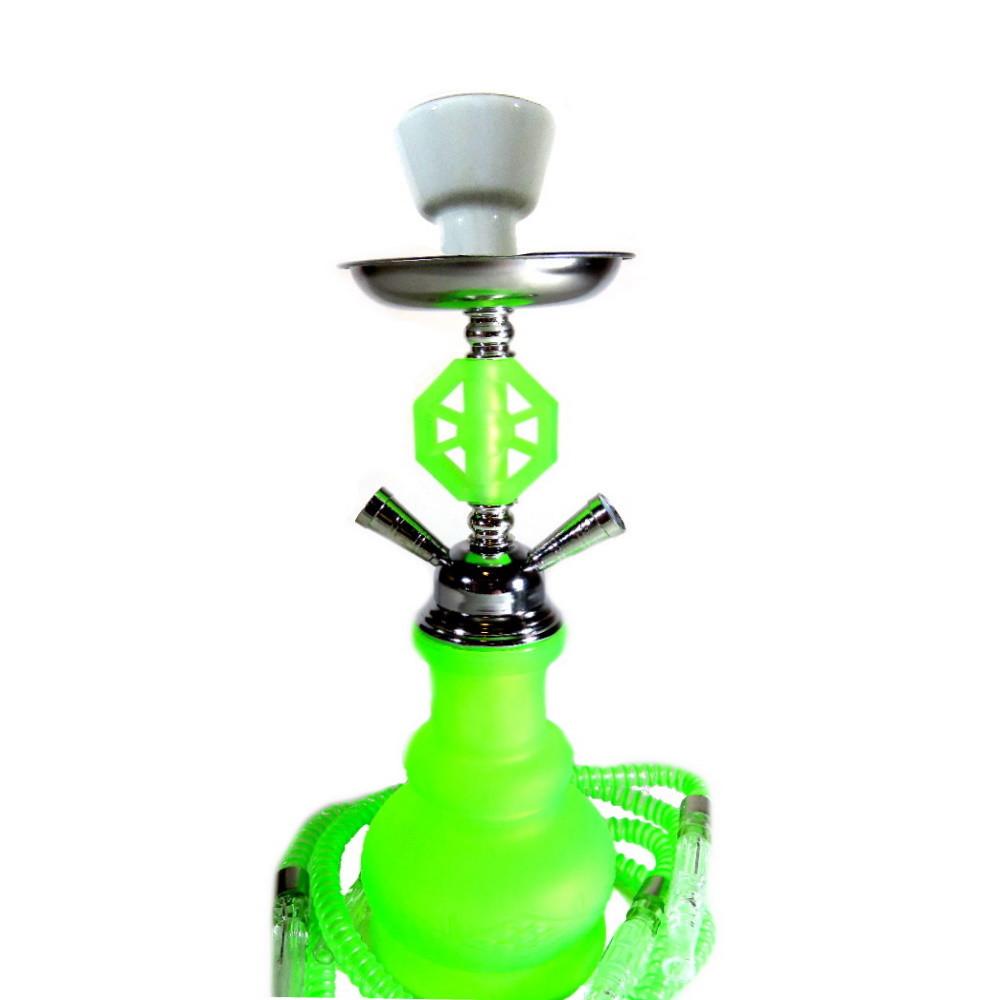 Neon Vízipipa | 43 cm | Zöld