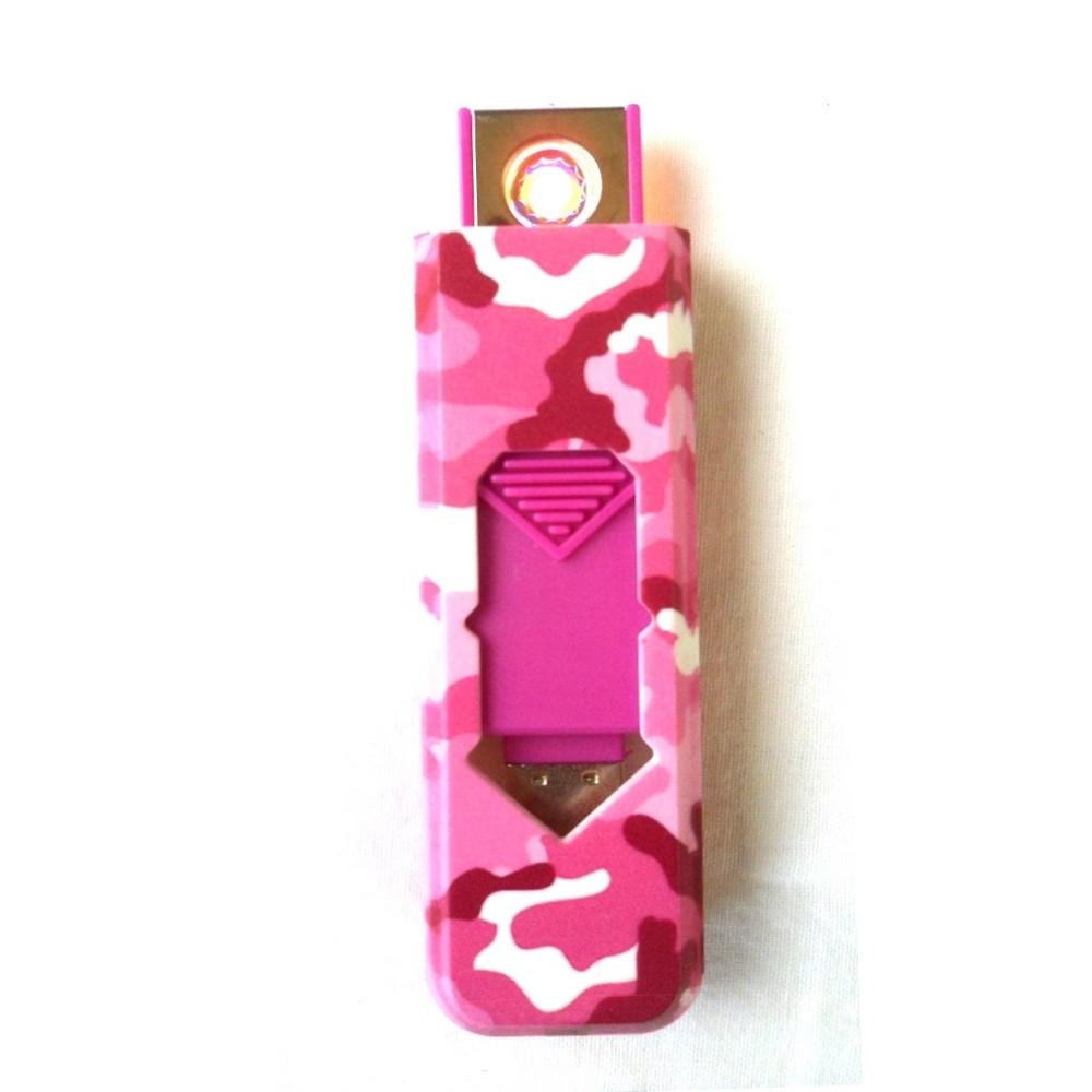 USB öngyújtó | Terepmintás | Pink