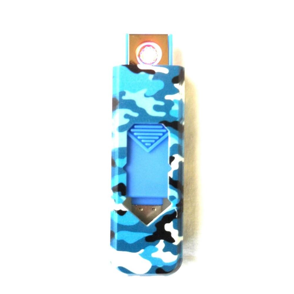 USB öngyújtó | Terepmintás | Kék