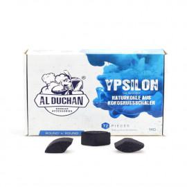 Al Duchan vízipipa szén | Y Round | 1 kg
