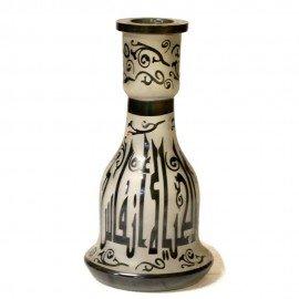 Arab betűs | 26 cm | Fehér - Fekete