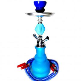 Neon vízipipa | 43 cm | kék