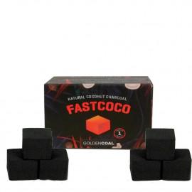 Fastcoco vízipipa szén| 6 db szénkocka